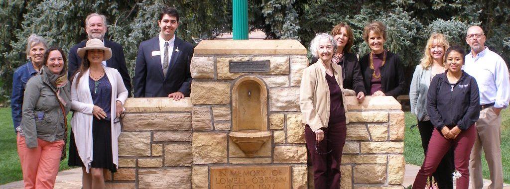Group photo at dedication