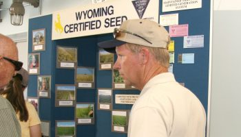 Wyoming Department of Agriculture honors state's seed certification manager