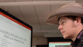 Satellite high-tech snapshots help Wyoming students discern problems on family lands