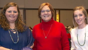 College recognizes outstanding staff, faculty members