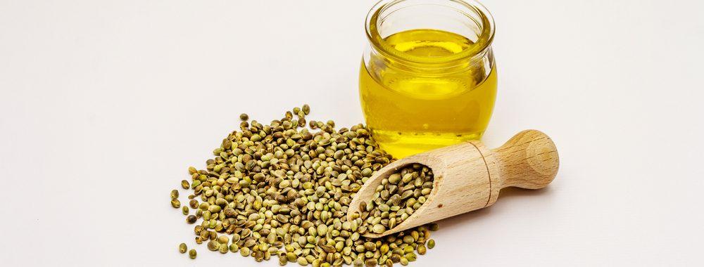 Hemp seeds and oil.