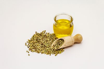 Hemp seeds and oil.