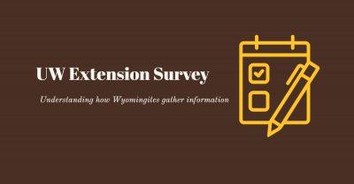 UW Extension Survey