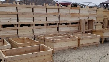 Volunteers build, distribute garden boxes to encourage growing own produce