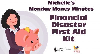 Money Minute Financial Disaster First Aid Kit